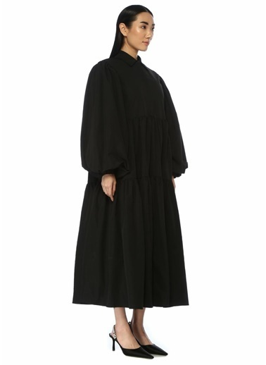 Ghospell Elbise Siyah